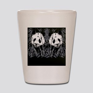 panda_flip_flops Shot Glass