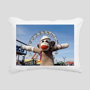 ferris Rectangular Canvas Pillow
