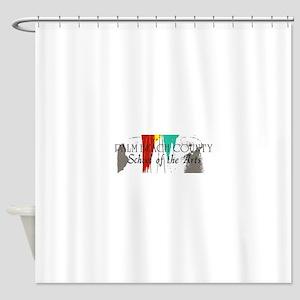 PBCSOA Logo Shower Curtain