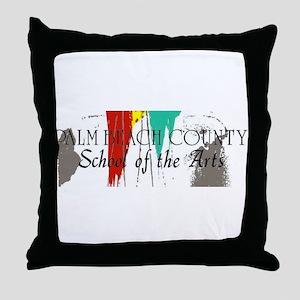PBCSOA Logo Throw Pillow