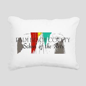 PBCSOA Logo Rectangular Canvas Pillow