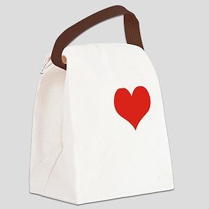 I love Brothas Canvas Lunch Bag