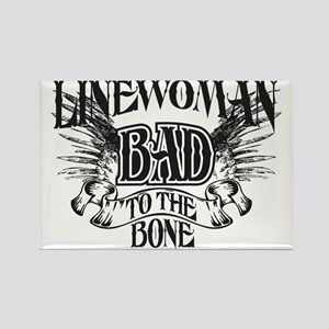 bad to the bone 3 Rectangle Magnet