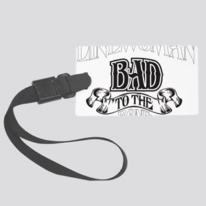 bad to the bone 2 Large Luggage Tag