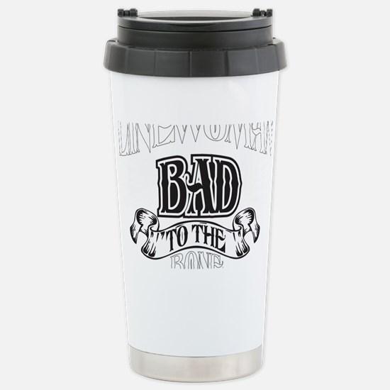 bad to the bone 2 Stainless Steel Travel Mug