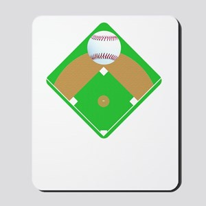 Baseball I love Diamonds T-Shirts  Gifts Mousepad