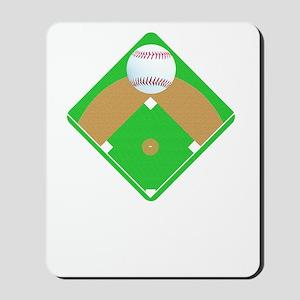 Baseball I love Diamonds T-Shirts  Gifts Mousepad