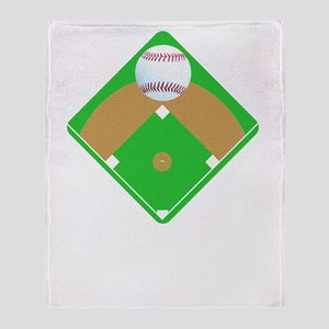 Baseball I love Diamonds T-Shirts  G Throw Blanket