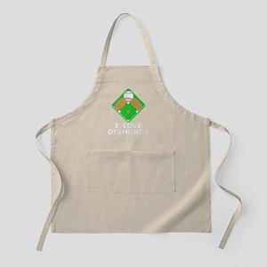 Baseball I love Diamonds T-Shirts  Gifts Apron