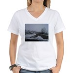 Snow Women's V-Neck T-Shirt