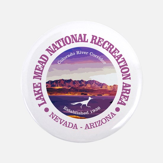 "Lake Mead NRA 3.5"" Button"