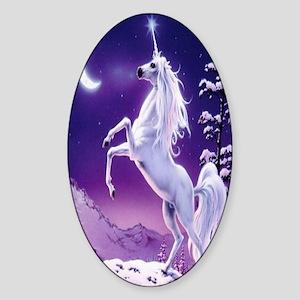 unicorn3 Sticker (Oval)
