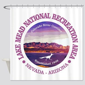 Lake Mead NRA Shower Curtain