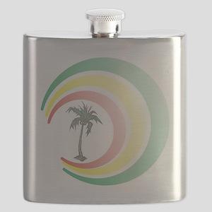 palmera. Flask