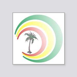 "palmera. Square Sticker 3"" x 3"""
