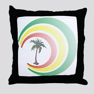 palmera. Throw Pillow