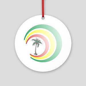 palmera. Round Ornament
