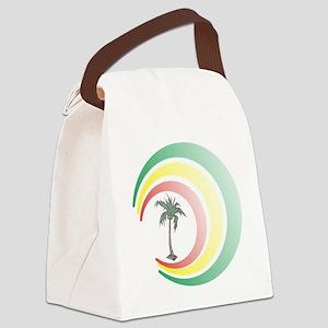 palmera. Canvas Lunch Bag
