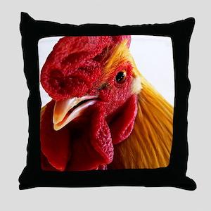 Cockadoodle Doo Throw Pillow