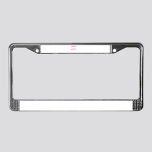 WATCH ME BAKE BAKE License Plate Frame
