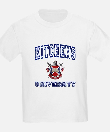 KITCHENS University Kids T-Shirt