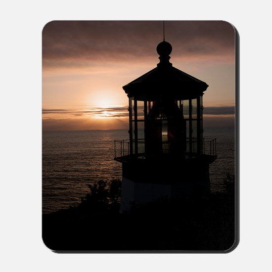 (10) Cape Meares Lighthouse  4973 Mousepad