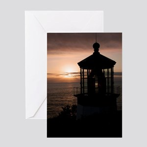 (10) Cape Meares Lighthouse  4973 Greeting Card