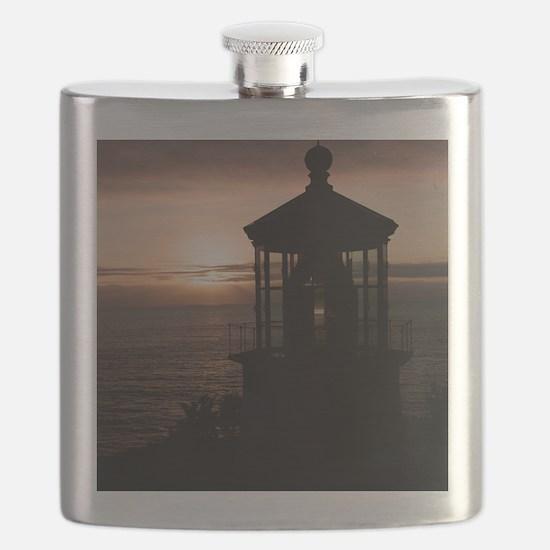 (10) Cape Meares Lighthouse  4973 Flask
