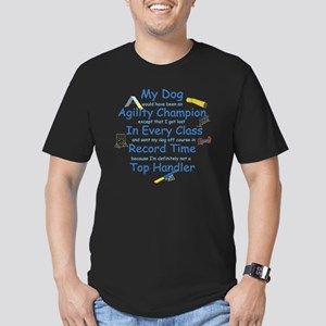 Agility Top Handler Men's Fitted T-Shirt (dark)