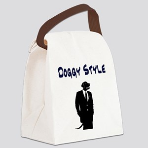 Doggy Style Canvas Lunch Bag
