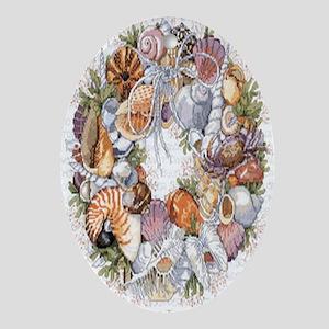 seashell Oval Ornament