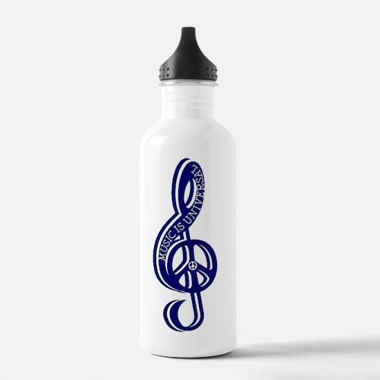 music_is_universal_nav Water Bottle