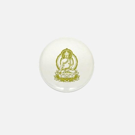 BuddhaOutline2XXX Mini Button