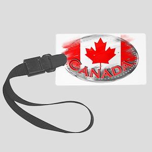 Canada Large Luggage Tag