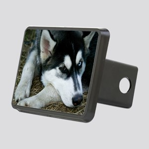 Siberian Husky Dog Rectangular Hitch Cover