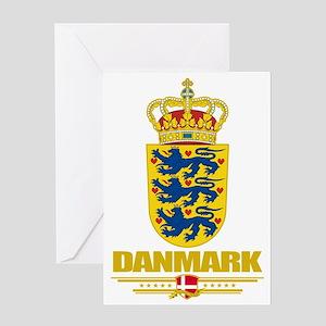 Denmark COA(Flag 10) Greeting Card