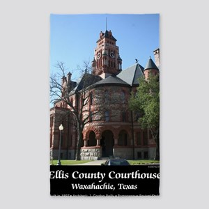 ellis-county-courthouse-poster 3'x5' Area Rug