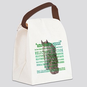 amo-bacter equuii Canvas Lunch Bag