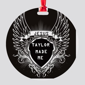 JESUSTAYLORMADEMEDESIGN Round Ornament