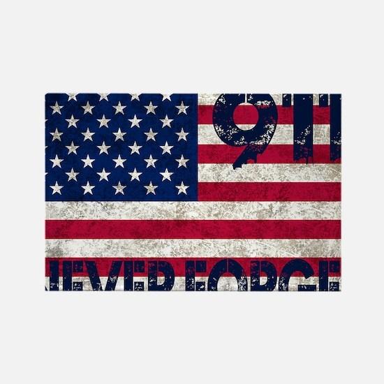 USA 911 Rectangle Magnet