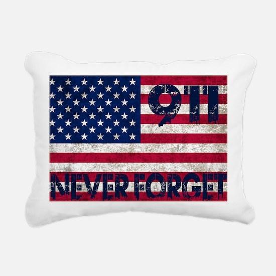 USA 911 Rectangular Canvas Pillow