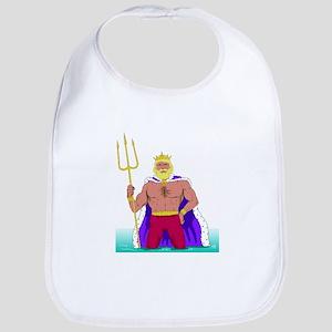 King Neptune Bib