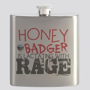 honey badger lactating w rage-page1 Flask