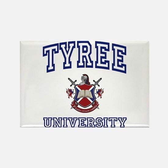 TYREE University Rectangle Magnet