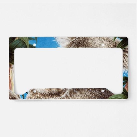 Koala  Baby (Coin Purse) 2 License Plate Holder