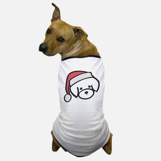 bichon_santa Dog T-Shirt