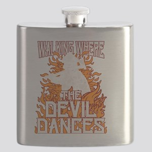 Walking Where The Devil Dances Flask