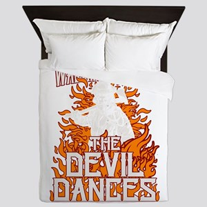 Walking Where The Devil Dances Queen Duvet