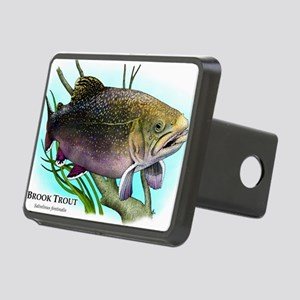 Brook Trout Rectangular Hitch Cover