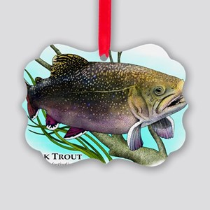 Brook Trout Picture Ornament